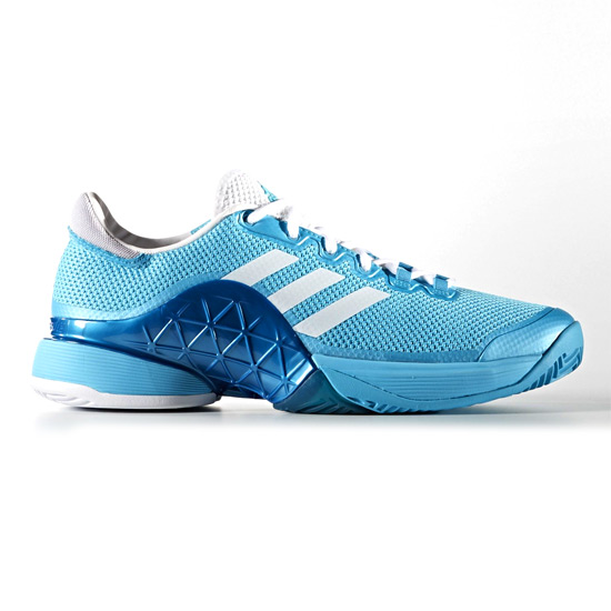 Adidas Barricade 2017 Mens Tennis Shoes (Samba Blue)