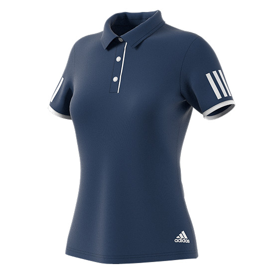 Adidas Club Womens Polo (Mystery Blue)