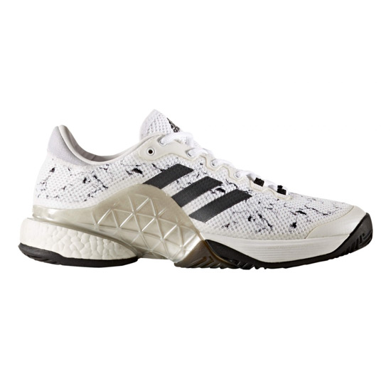 first rate good service authorized site Adidas Barricade 2017 Boost Mens Tennis Shoes (White) | LTA Tennis ...