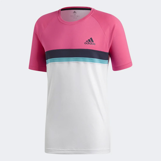 Adidas Club Mens Tee (Shock Pink)