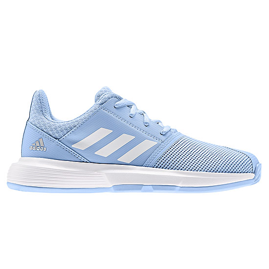 Adidas Court Jam XJ Junior Tennis Shoes (Blue) | LTA Tennis Shop