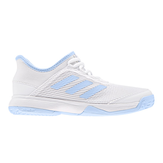 Adidas AdiZero Club K Junior Tennis Shoes (White)