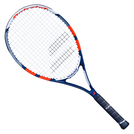 Babolat Pulsion 105 Tennis Racket (Grey-Red)