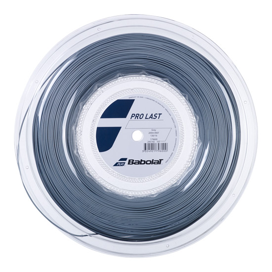 Babolat Pro Last 130 Grey Tennis String (200m reel)