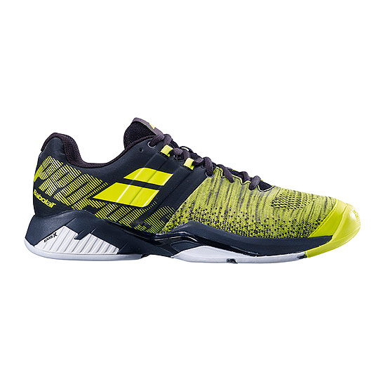 Babolat Propulse Blast All Court Mens Tennis Shoes (Black-Fluo Aero)