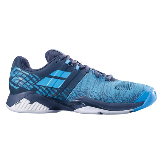 Babolat Propulse Blast All Court Mens Tennis Shoes (Grey-Blue)