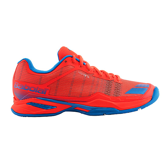 Babolat Jet Team All Court Womens Shoes (Fluo Red)