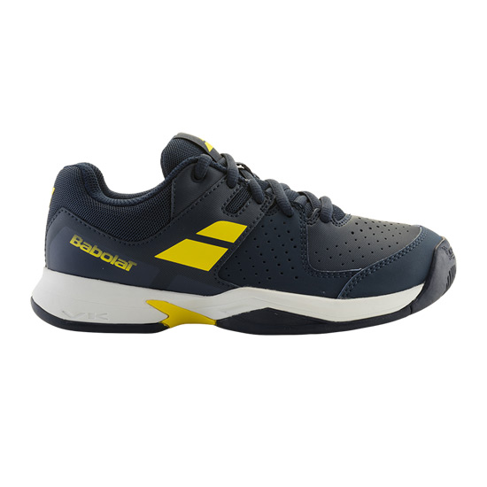 Babolat Pulsion Junior Tennis Shoes (Blue-Fluo Yellow)