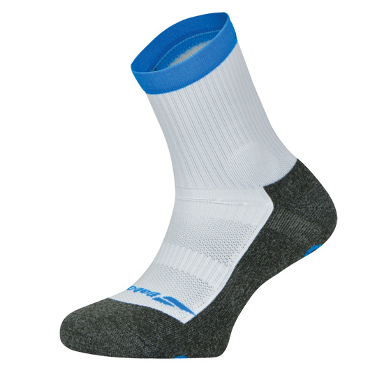 Babolat Pro 360 Mens Socks (White-Blue)