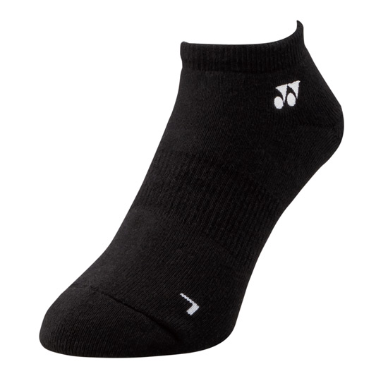Yonex 19121 Low-Cut Socks (Black)
