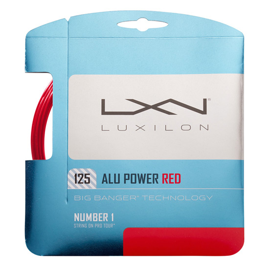 Luxilon AluPower 125 Red Limited Edition Tennis String