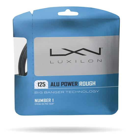Luxilon AluPower Rough G7 1.25mm Set Tennis Racket String