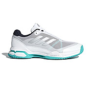 Adidas Barricade Club Mens Tennis Shoes (White-Legend Ink)