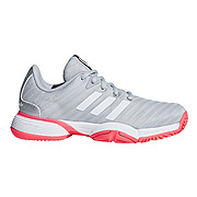 Adidas Barricade 2018 XJ Junior Tennis Shoes (White)