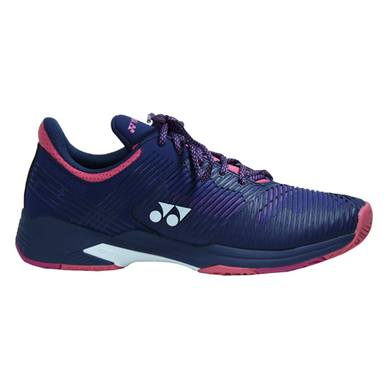 Yonex Power Cushion Sonicage 2 Womens Tennis Shoes (Navy-Pink)