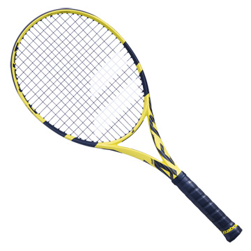Babolat Pure Aero Tennis Racket (Yellow-Black)