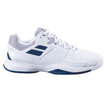 Babolat Pulsion All Court Mens Tennis Shoes (White-Estate Blue)