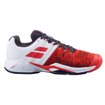 Babolat Propulse Blast All Court Mens Tennis Shoes (Cherry Tomato-White)