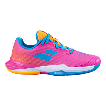 Babolat Jet Mach III All Court Junior Tennis Shoes (Hot Pink)