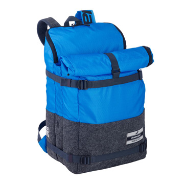 Babolat Evo 3+3 Backpack (Black-Blue)