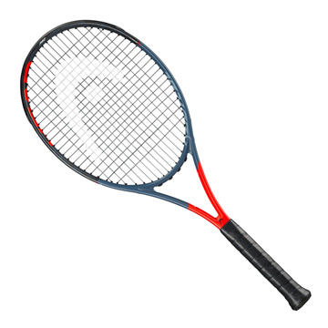 Head Graphene 360 Radical Pro Unstrung Tennis Racket (Anthracite-Grey)