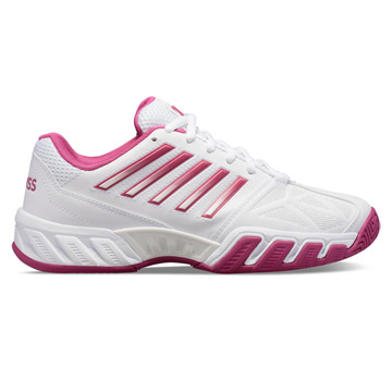 K-Swiss Bigshot Light 3 Womens Tennis Shoes (White-Cactus Flower)