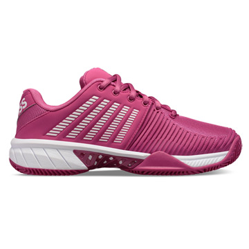 K-Swiss Express Light 2 HB Womens Tennis Shoes (Cactus flower-White)