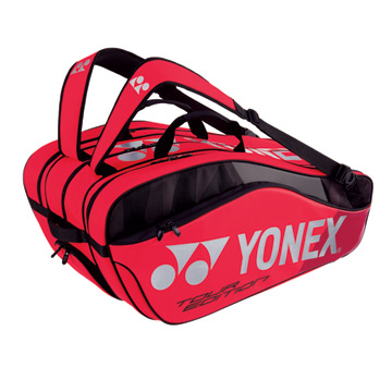 Yonex 9829 Pro 9 Racket Bag (Flame Red)