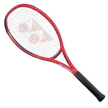 Yonex VCore Feel Tennis Racket (Customised Restring) Flame Red
