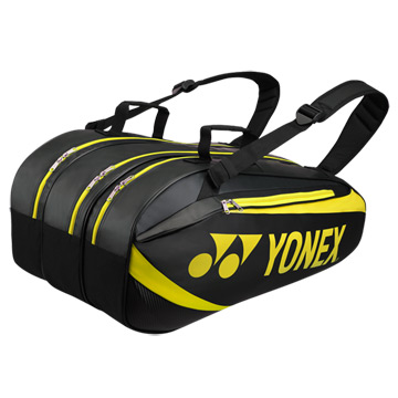 Yonex Active 8929 9 Racket Bag (Black-Lime)