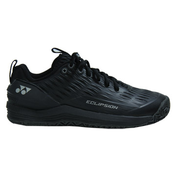 Yonex Power Cushion Eclipsion 3 Mens Tennis Shoes (Black-Silver)