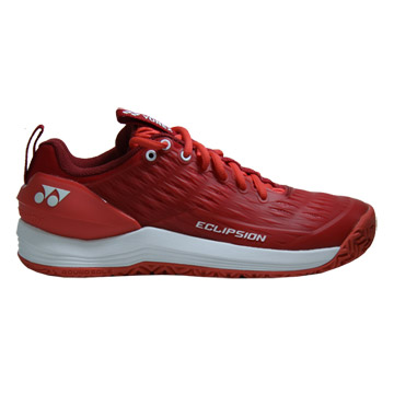 Yonex Power Cushion Eclipsion 3 Womens Tennis Shoes (Red-White)