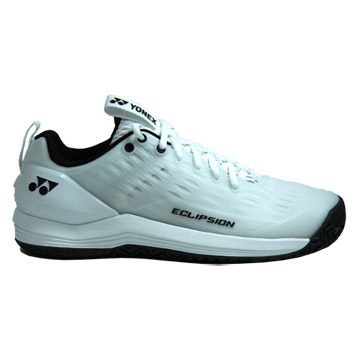 Yonex Power Cushion Eclipsion 3 Mens Tennis Shoes (White-Black)