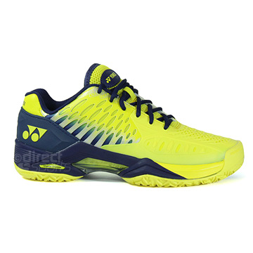Yonex SHT Power Cushion Eclipsion Mens Tennis Shoes (Yellow-Navy)