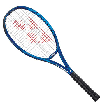 Yonex EZone 100 G (Customised Restring) Tennis Racket (Deep Blue)