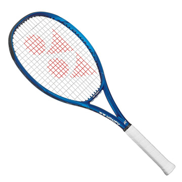 Yonex EZone 100 LG (Customised Restring) Tennis Racket (Deep Blue)