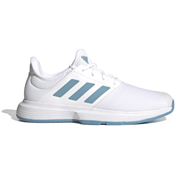 Adidas GameCourt Mens Tennis Shoes (White)