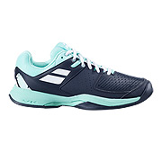 Babolat Pulsion All Court Womens Tennis Shoes (Black/Lucite Green)